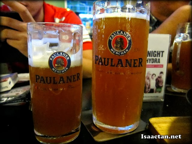The official Paulaner Oktoberfest Bier are brewed exclusively for the Oktoberfest season
