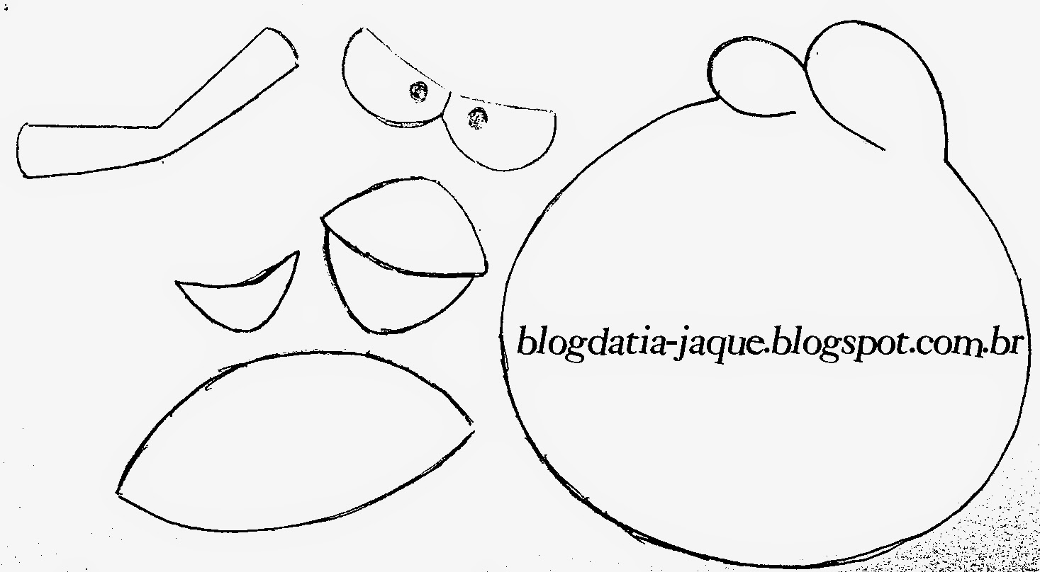 Como Desenhar O Pássaro Vermelho De Angry Birds: Chaveiro Angry Birds (Pássaro Vermelho