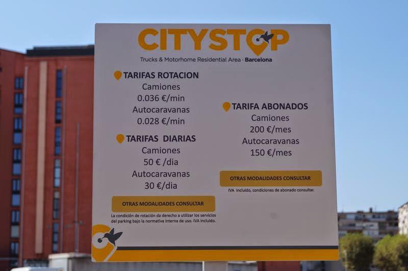 cartel de Citystop Barcelona