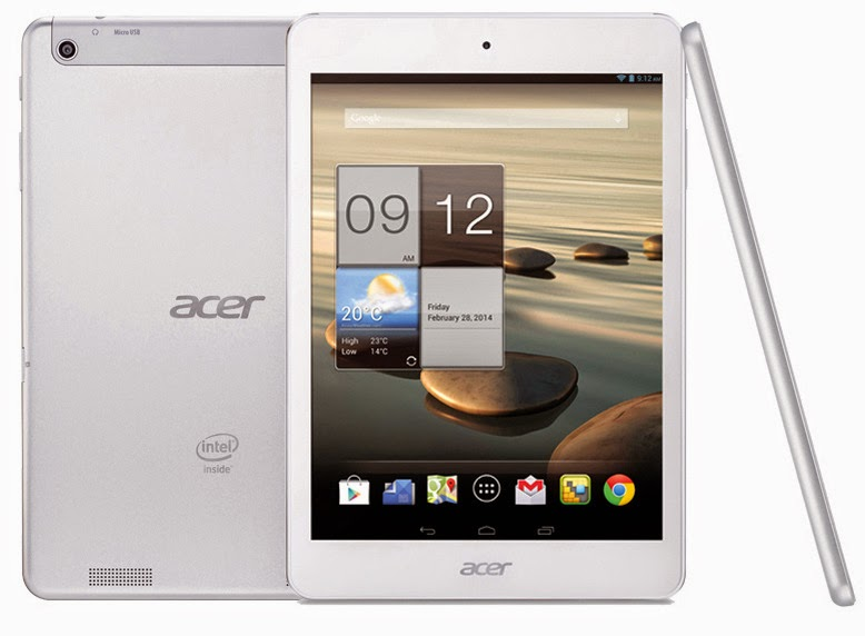 Acer Iconia A1-830 tablet launched in India @ Rs. 11,299 | Mobile Talk News