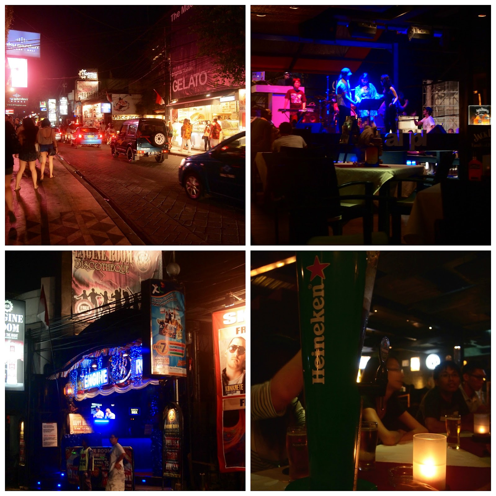 Bali Kuta Bar Street