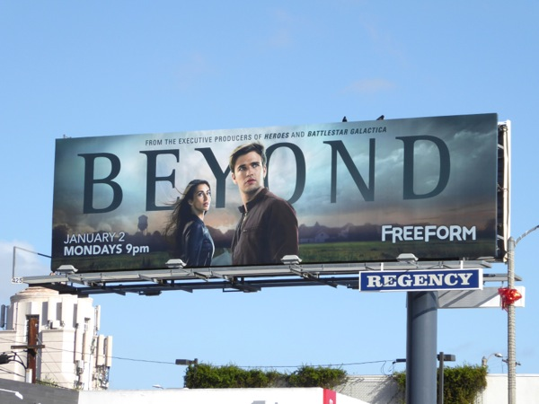 Beyond series premiere billboard