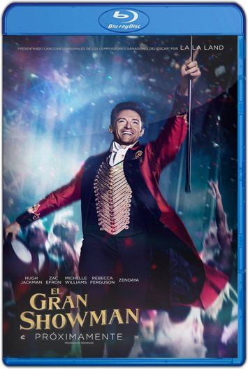 El Gran Showman (2017) HD 1080p y 720p Latino