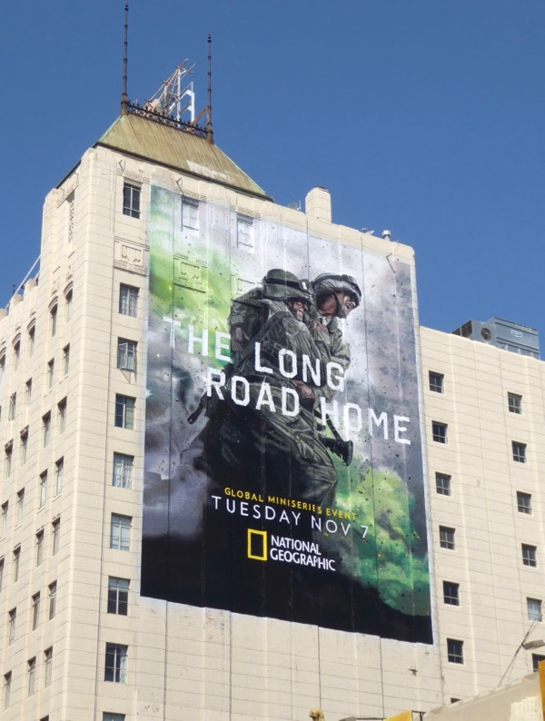 Long Road Home miniseries billboard