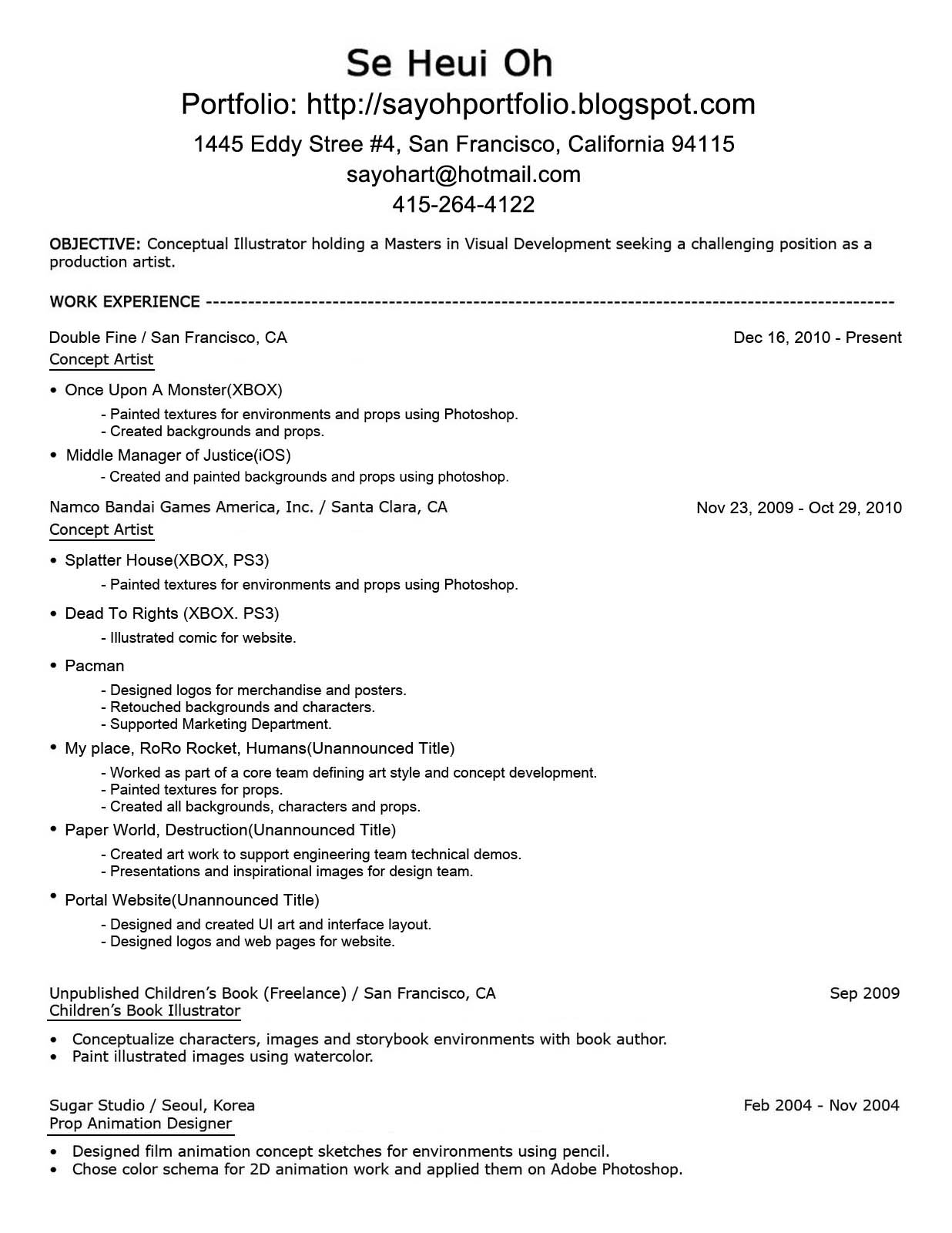 Emailing Resume What To Say