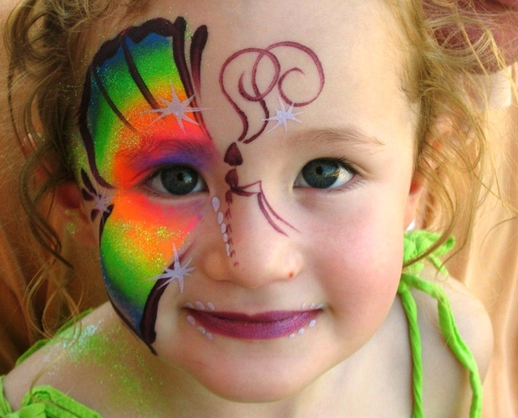 Face Painting Designs Butterfly Simple