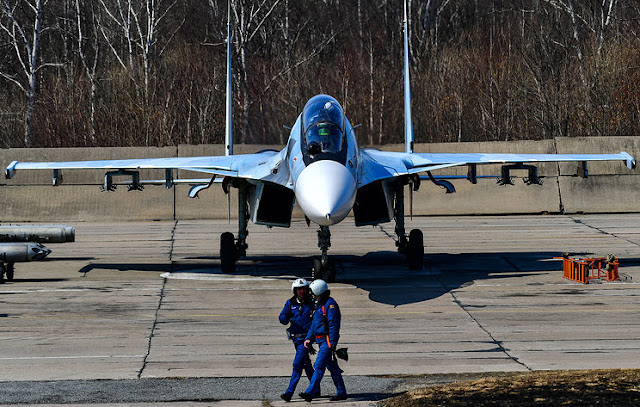 Base aérea rusa en Armenia tendrá aviones Su-30SM