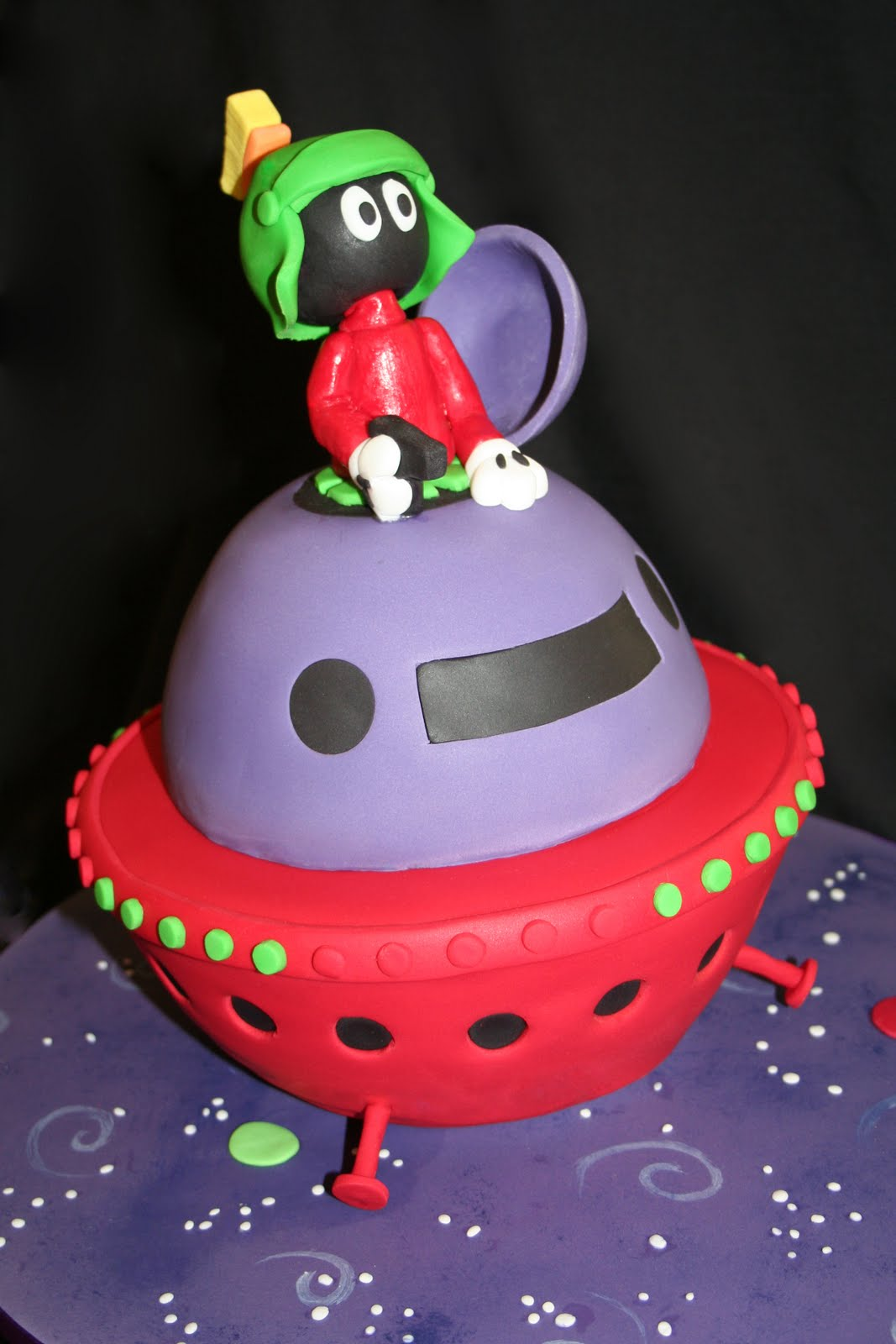 Leonie S Cakes And Parties Marvin The Martian