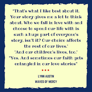 Book Quote from Waves of Mercy by Lynn Austin