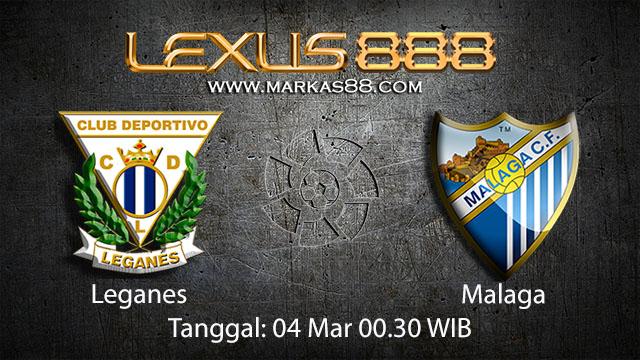 BOLA 88 - PREDIKSI TARUHAN BOLA LEGANES VS MALAGA 4 MARET 2018 ( SPANISH LA LIGA )