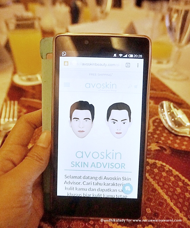 Avoskin Skin Advisor Technology
