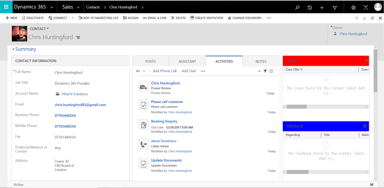 A Couple Of Things About The New Dynamics 365 Ce Uui