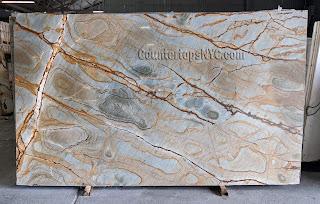 Stone wood quartzite slabs for countertops