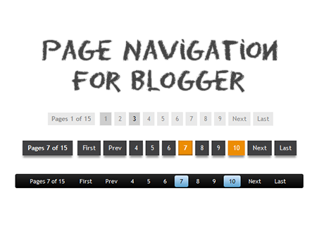Hasil gambar untuk cara membuat page number blog