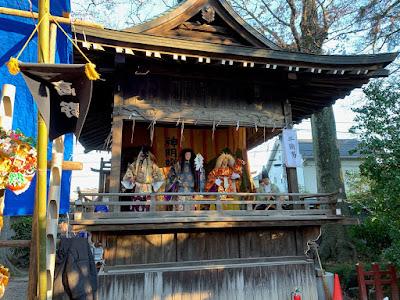 久伊豆神社縁起市里神楽(平成30年12月15日)