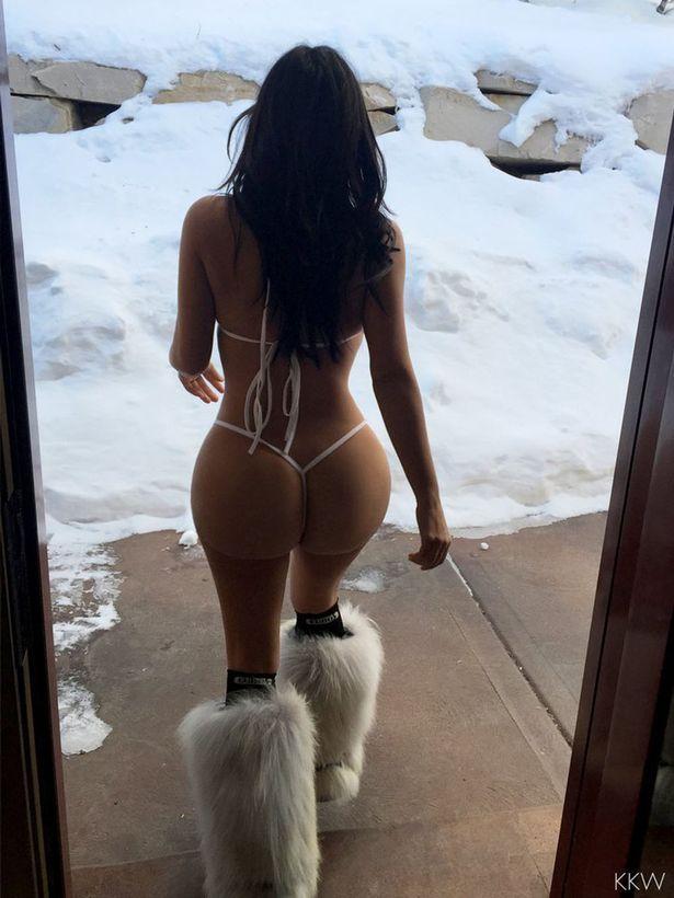 Kim kardashian in nude