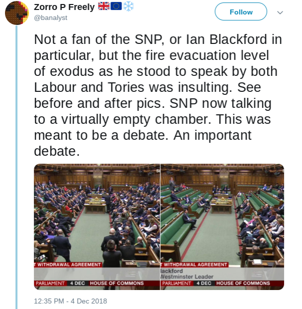 SNP speak in the House of Commons debate