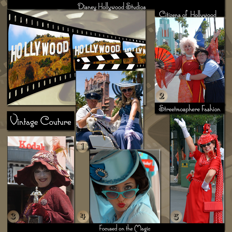 Citizens of Hollywood (Streetmosphere) at Disney's Hollywood Studios.