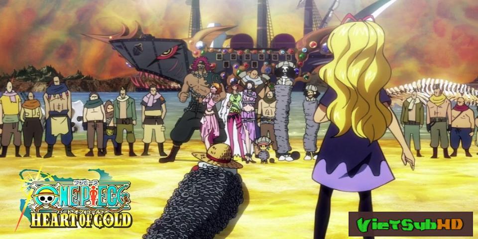 Phim One Piece: Trái Tim Của Vàng VietSub HD | One Piece: Heart Of Gold 2016