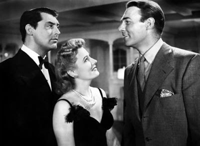 Cary Grant, Irene Dunne and Randolph Scott