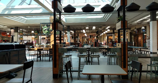 Empty Mall's And Contentment