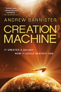 Interview with Andrew Bannister, author of Creation Machine