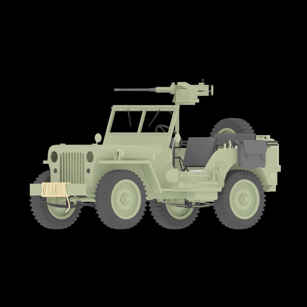 Askeri Jeep Model