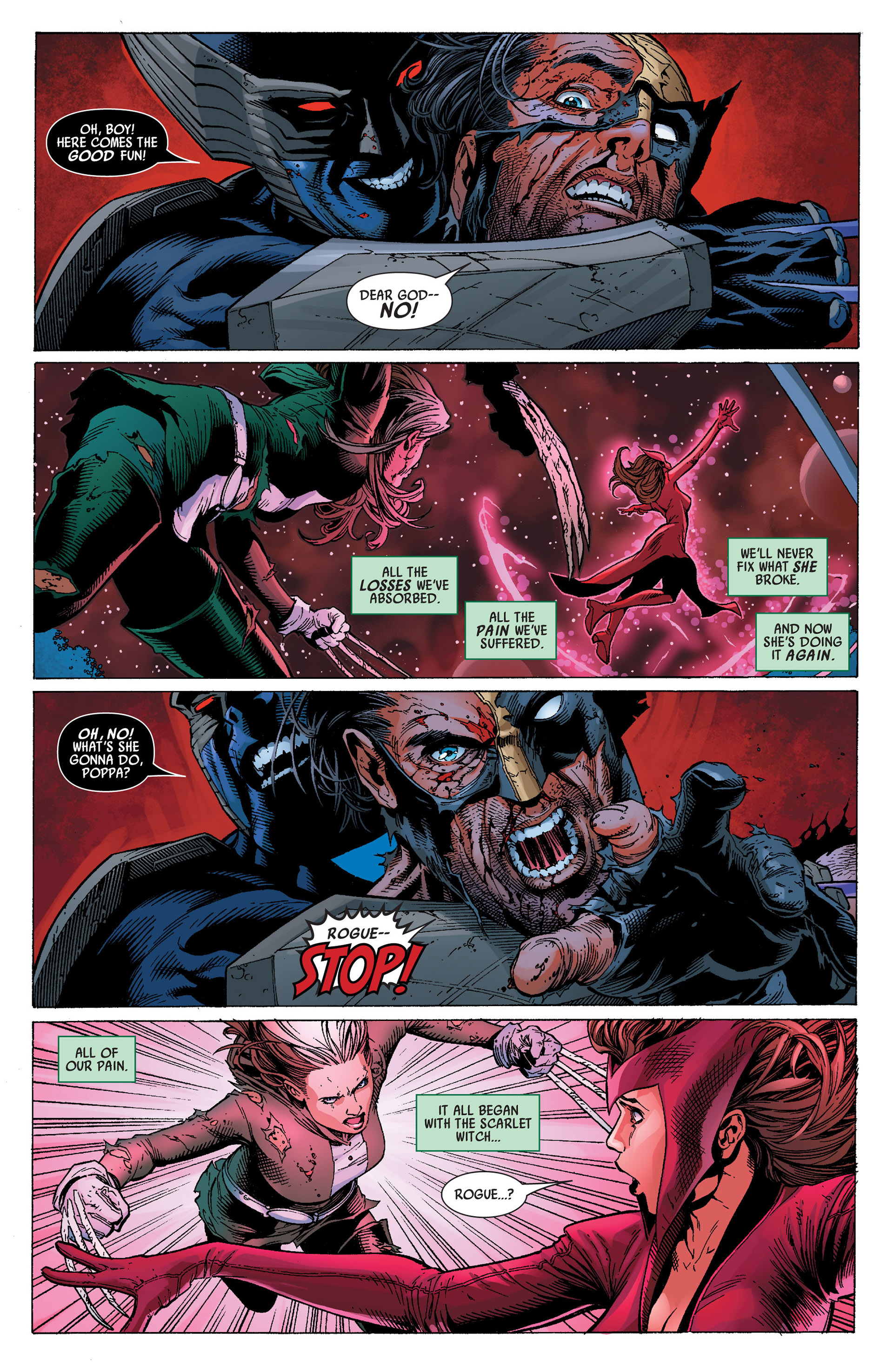 Read online Uncanny Avengers (2012) comic -  Issue #14 - 14