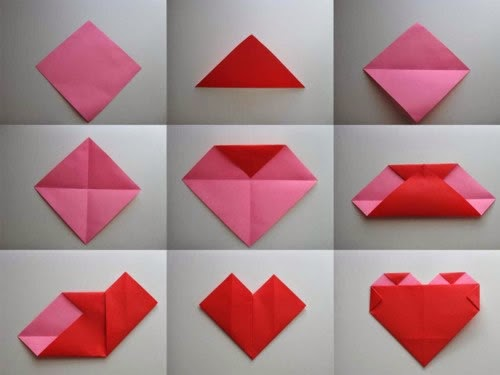 how-make-origami-heart-step-instructions-toy-cartoon-cute-paper ... | 375x500