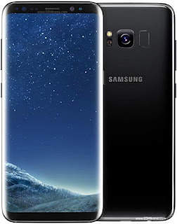 Galaxy S8 warna hitam