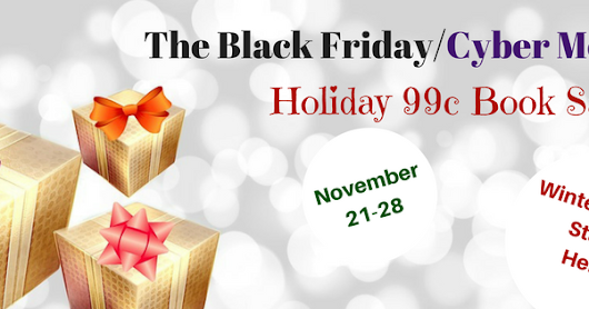 BLACK FRIDAY/CYBER MONDAY .99c SALE