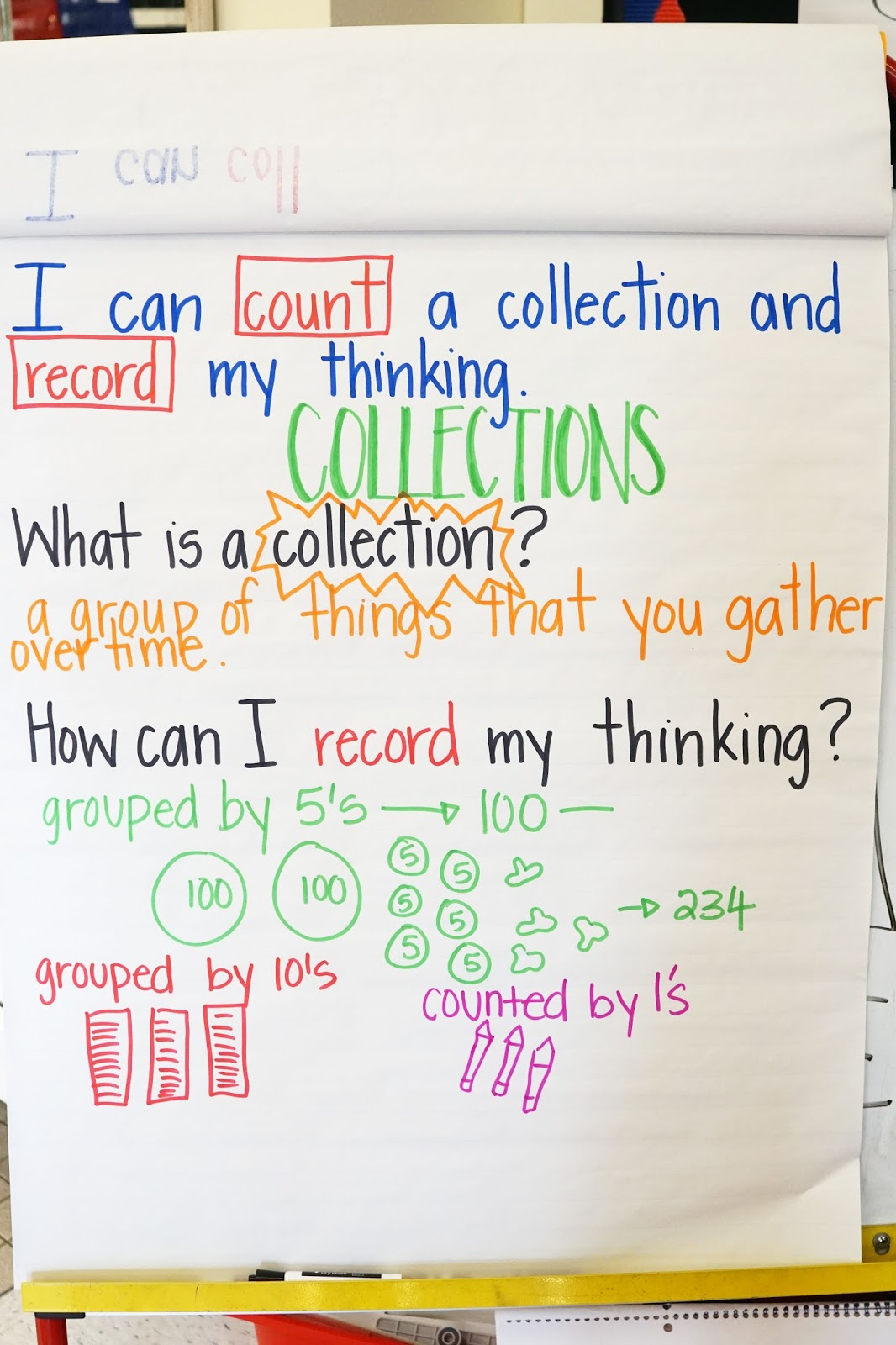 Counting Collections - The Lettered Classroom
