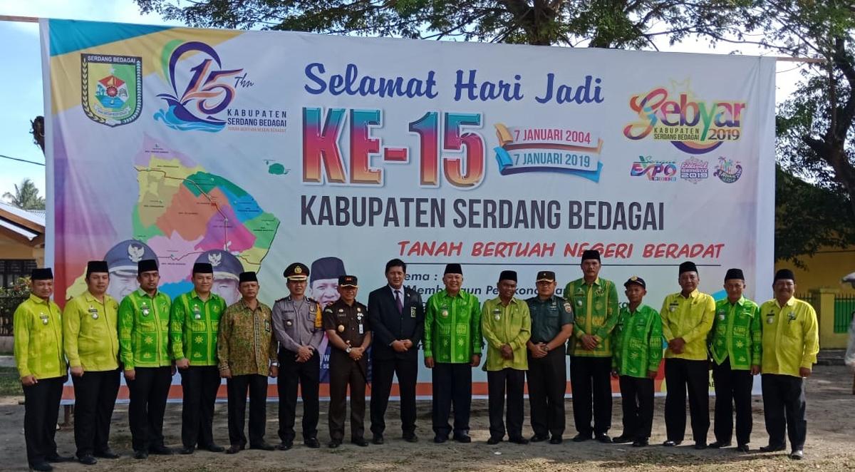 Dandim 0204 Ds Hadiri Upacara Hari Jadi Kabupaten Serdang Bedagai Tahun 2019 Menjaga Indonesia Pengawal Id