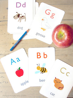 free alphabet flash cards