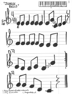 Miss Jacobson's Music: HOLIDAY RECORDER-KEYBOARD SONGS
