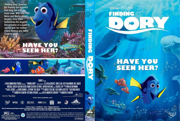 Finding Dory – Latino, Inglés