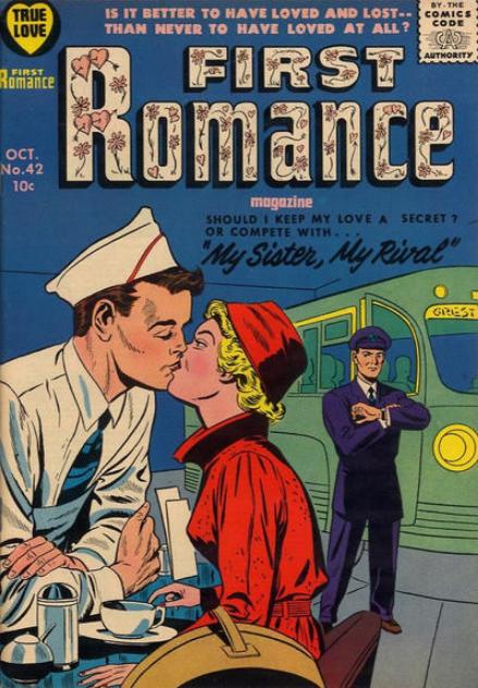 Kirby Harvey Romance Comics