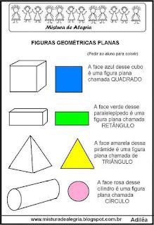 Atividade matemática geometria