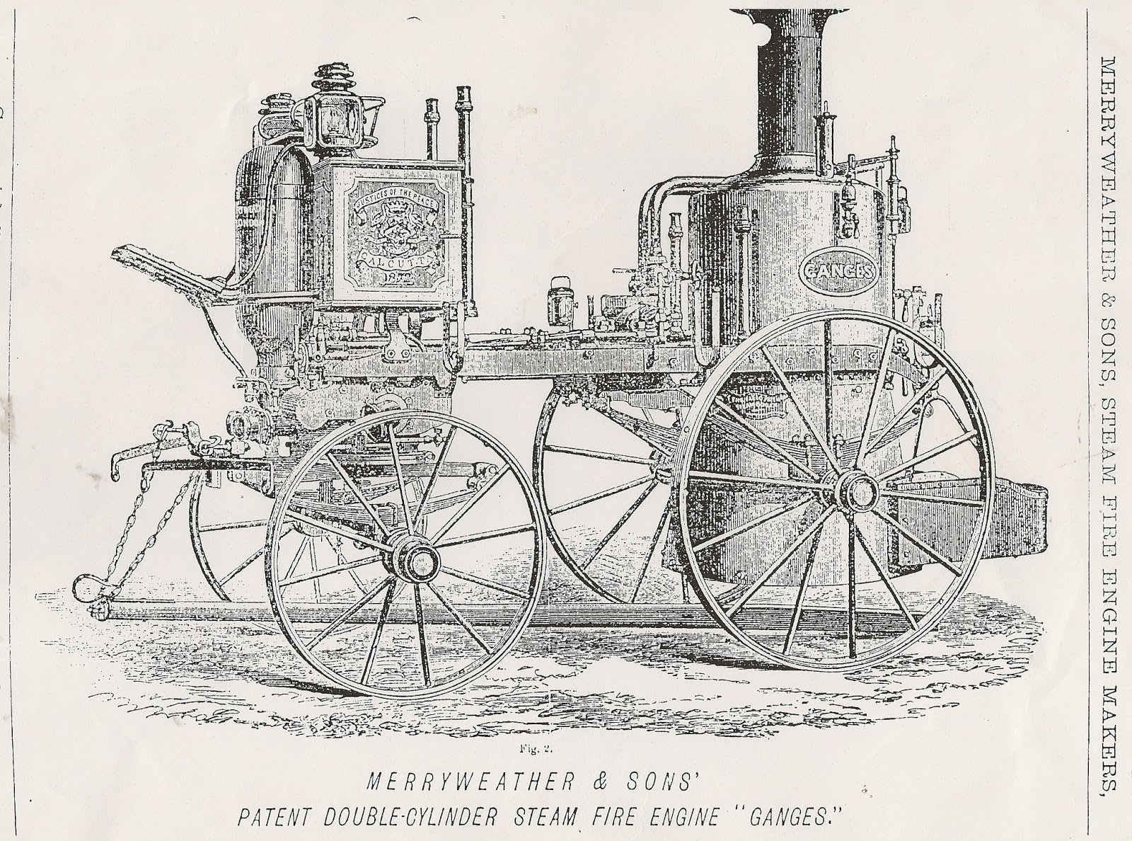 Greenwich Industrial History Merryweather Engine