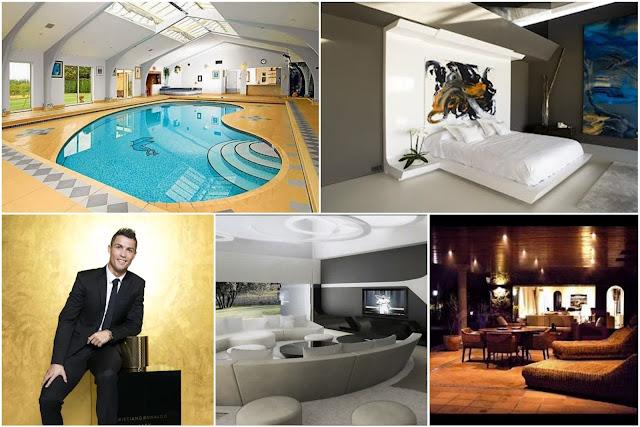 An Enjoyable Tour Inside Cristiano Ronaldo's House