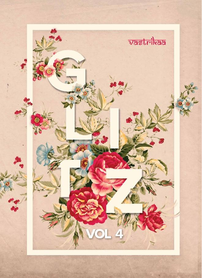 GLITZ VOL-4-New Arrival Designer Fancy Bubble Georgette Kurti