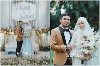 Pernikahan Lindswell – Hulaefi Digelar Dengan Nuansa Internasional