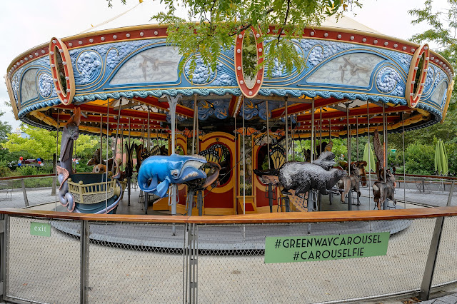 Greenway Carousel in Boston