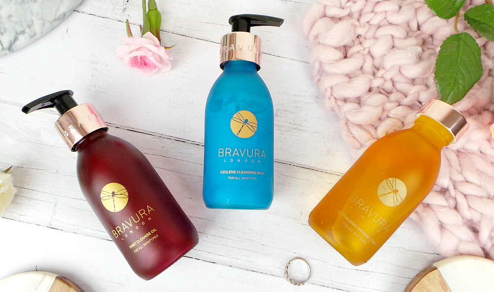 Bravura London Skincare  cleanse and tone