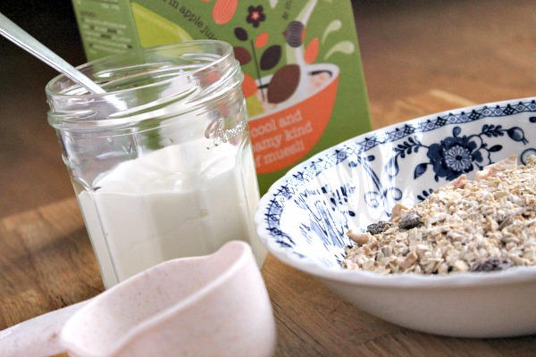 Bircher Muesli from Dorset Cereals