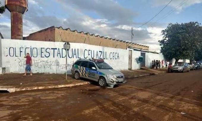 Aluno mata professor a tiros dentro de escola em Goiás