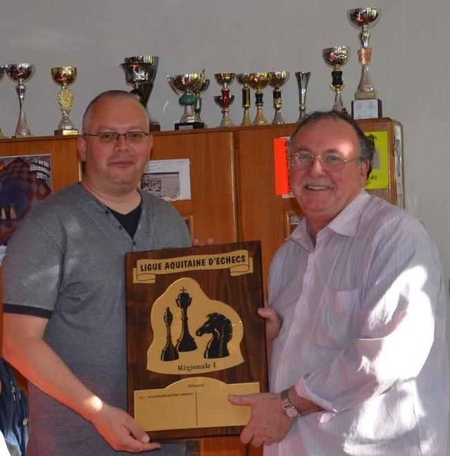 La montée de l'équipe de Régionale d'échecs en Nationale 4 - Photo © Chess & Strategy