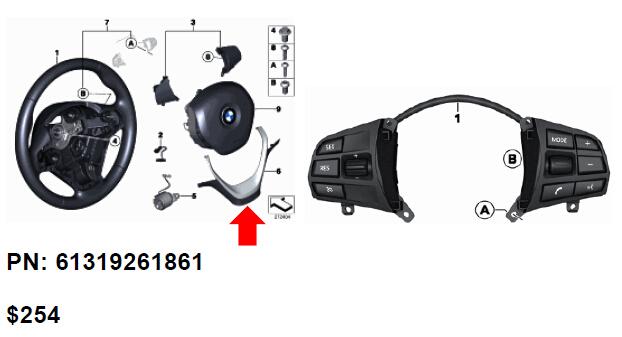 How to retrofit Cruise Control for BMW F30 F20-OBD365.com