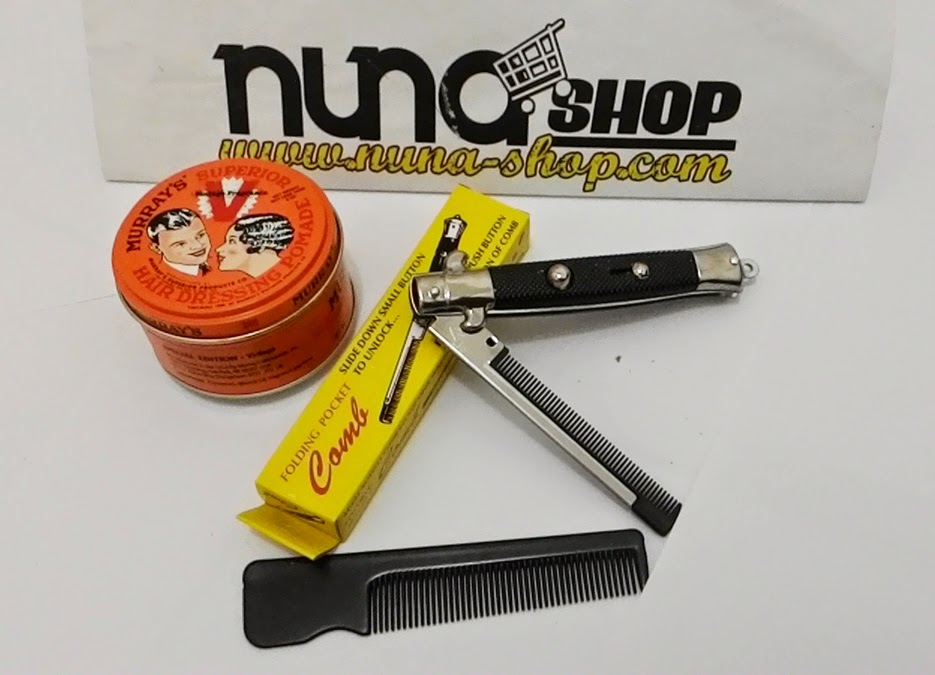 Paket Hemat Pomade Murray's Original Superior Vintage Special Edition + Switchblade Comb