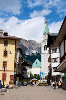 Cortina d'Ampezzo is a beautiful Alpine town with a huge draw for tourists
